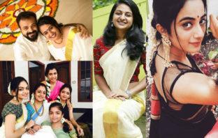 malayalam actors, malayalam actress, onam, onam 2017;