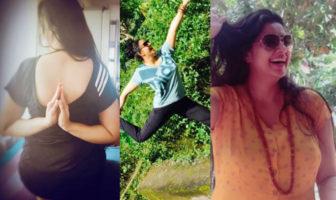 Samyuktha Varma, Samyuktha Varma yoga photos, Samyuktha Varma 2017 photos, biju menon family